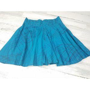 Anthropologie TULLE Flared Skirt Womens Small